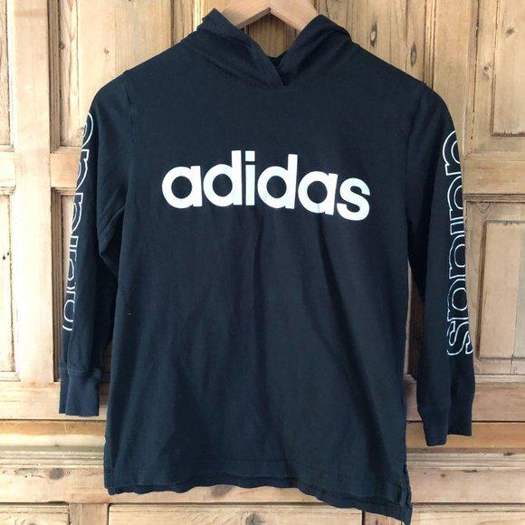 Adidas S (8) Hooded Longsleeve Shirt